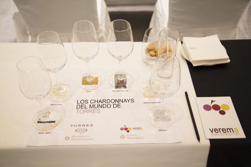 Los chardonnays del mundo de Torres