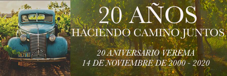 20 aniversario Verema
