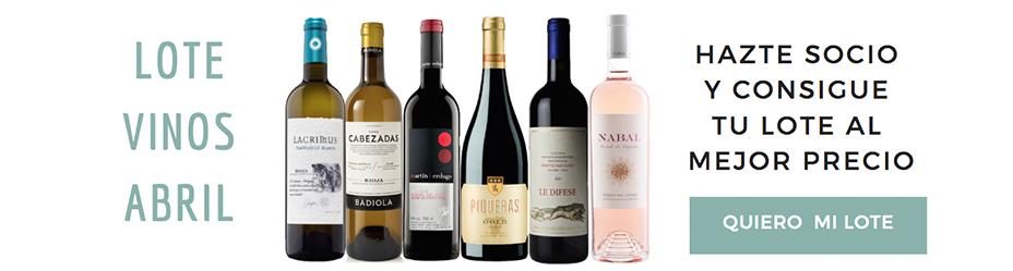 Lote de Vinos Abril-Club Verema